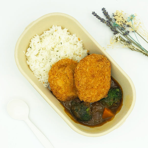 日式咖喱 南瓜薯餅 Japanese Curry Rice Pumpkin Croquette