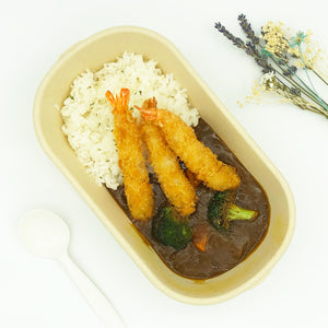 日式咖喱 炸蝦 Japanese Curry Rice Deep Fried Shrimp
