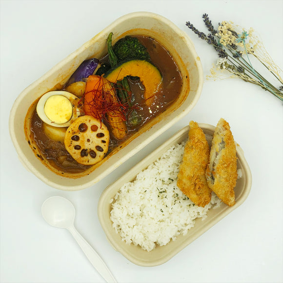 炸魚柳湯咖喱 Fried Fish Soup Curry