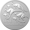 Kangaroo Series Red Kangaroo - $1 Silver Frosted Uncirculated Coin - Capsule Only 2020