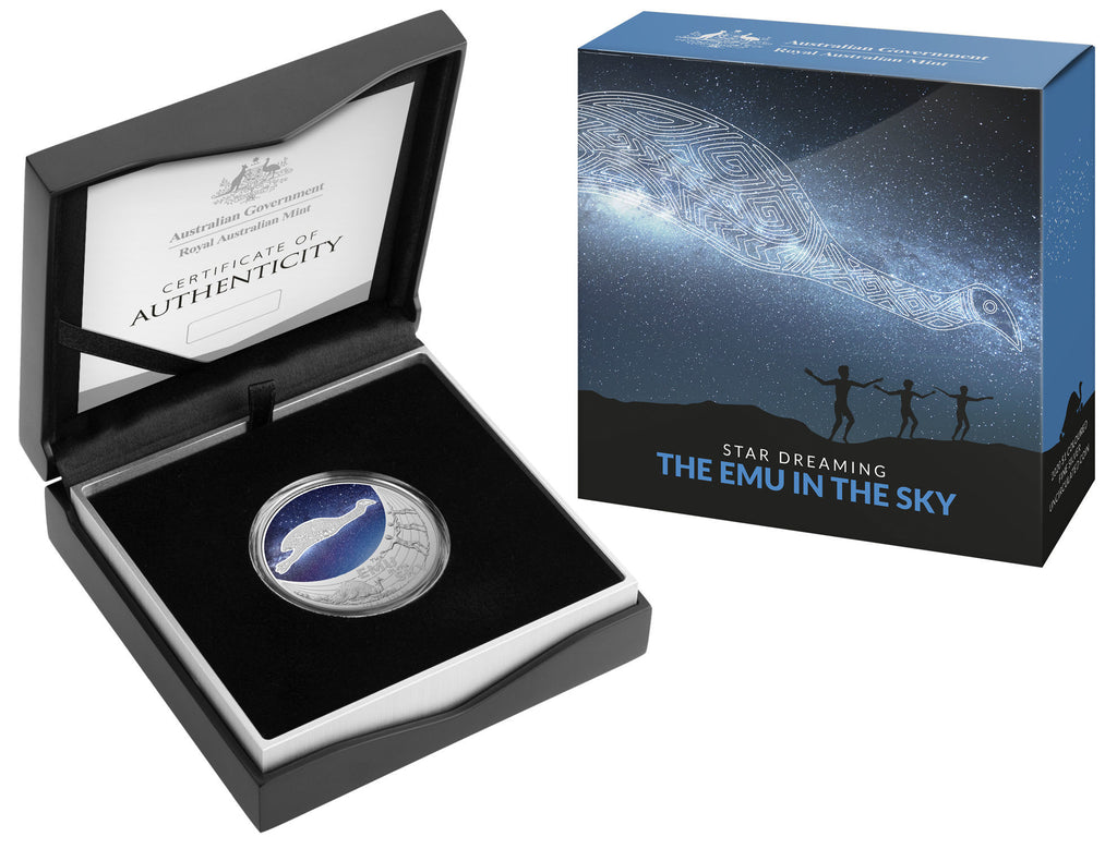 Star Dreaming - The Emu in the Sky - $1 Uncirculated 2020