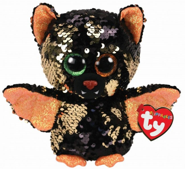 BEANIE BOOS FLIPABBLES SEQUINS REGULAR OMEN - HALLOWEEN BAT