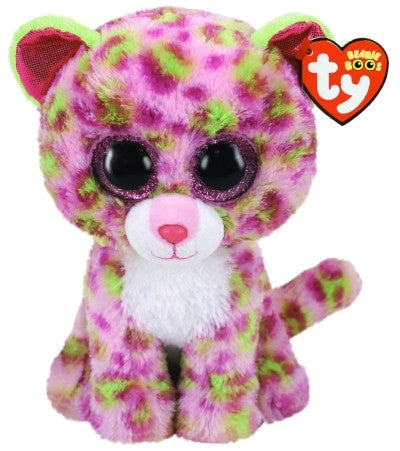 Lainey - Pink Leopard - Medium - TY Beanie Boo