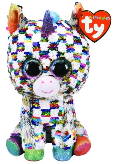 Cosmo - Unicorn - Medium Flippable - TY Beanie Boo