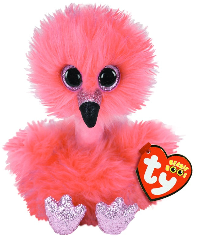Franny - Long Necked Flamingo - Medium - TY Beanie Boo