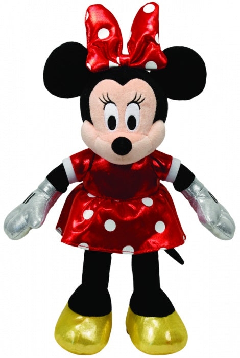 BEANIE BABIES MINNIE MOUSE RED - SPARKLE