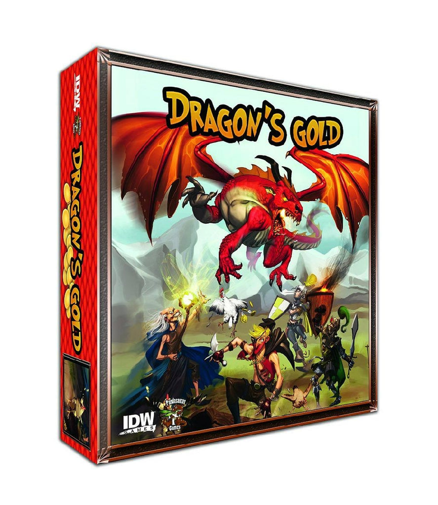 BOARD GAME - DRAGONS GOLD