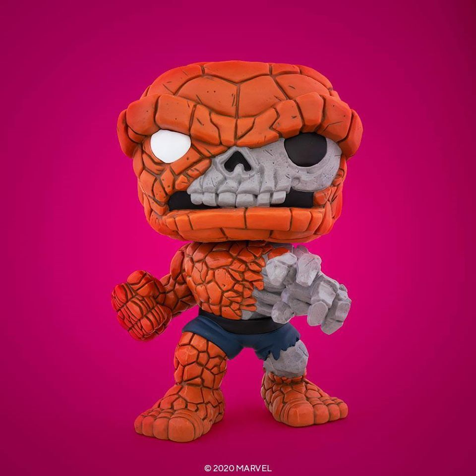Marvel Zombies - The Thing - #665 - 10 Inch - SDCC20 - Pop! Vinyl