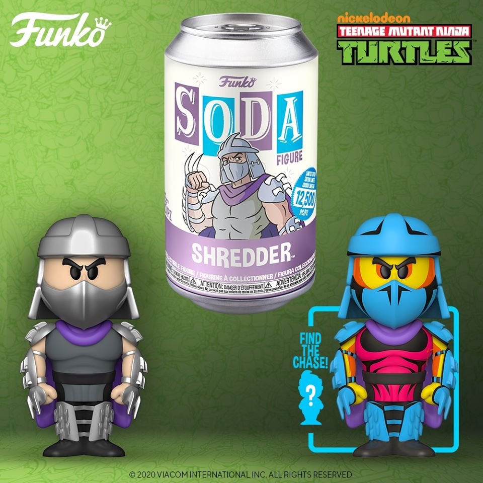 Teenage Mutant Ninja Turtles - Shredder - Vinyl Soda - Pop! Vinyl