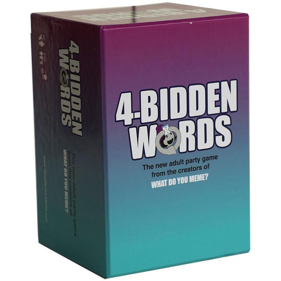 4-Bidden Words - Card Game