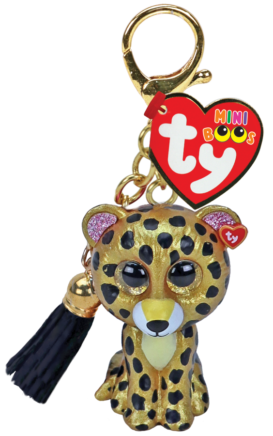Sterling - Leopard - Clip On - TY Beanie Boo