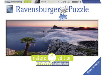 PUZZLE RAVENSBURGER IN A SEA OF CLOUDS 1000 PIECE PANORAMA