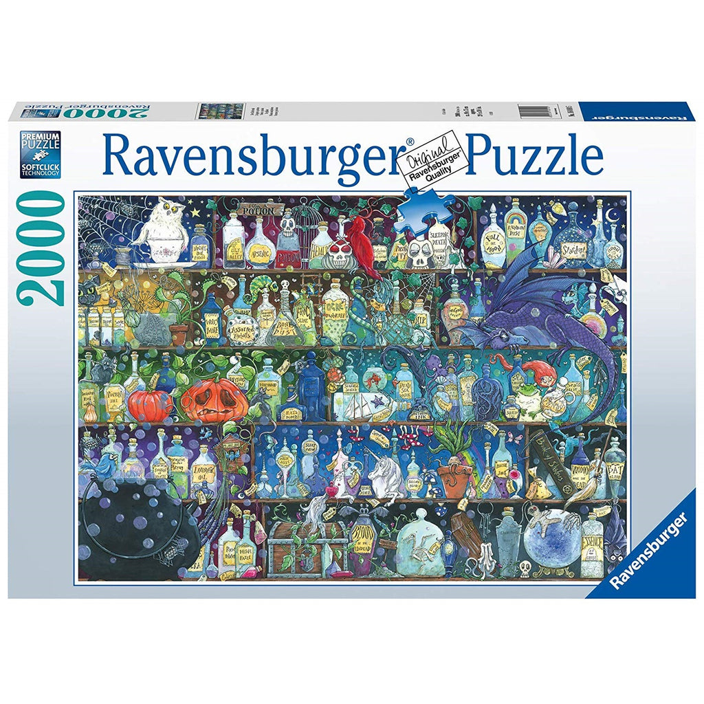 2000 Pieces - Poisons and Potions - Ravensburger Puzzle
