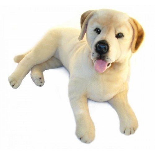 Beau - Cream Labrador - 62cm Lying - Plush Animals - Bocchetta