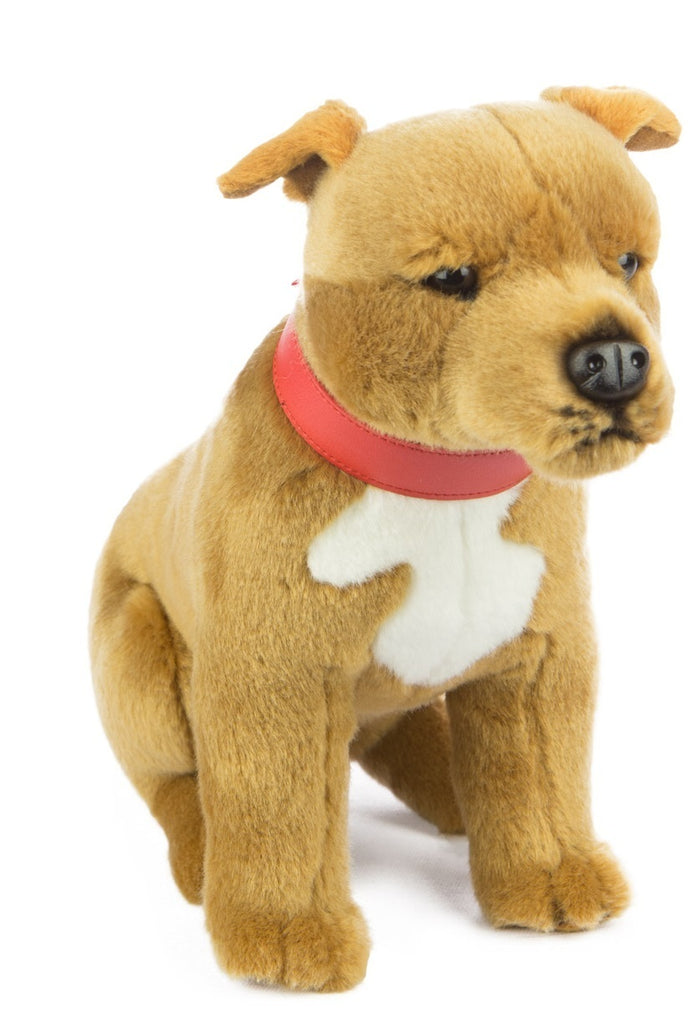 Pax - Staffy - 25cm Sitting - Plush Animals - Bocchetta