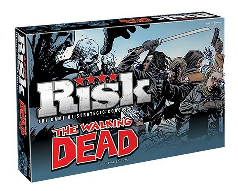 BOARD GAME - RISK THE WALKING DEAD EDITION