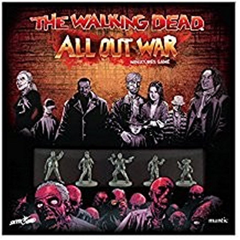 The Walking Dead - All Out War - Board Game