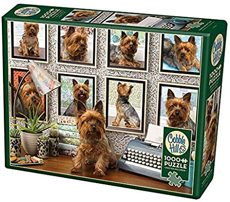 1000 Piece - Yorkies Are My Type - Cobble Hill - Jigsaw Puzzle