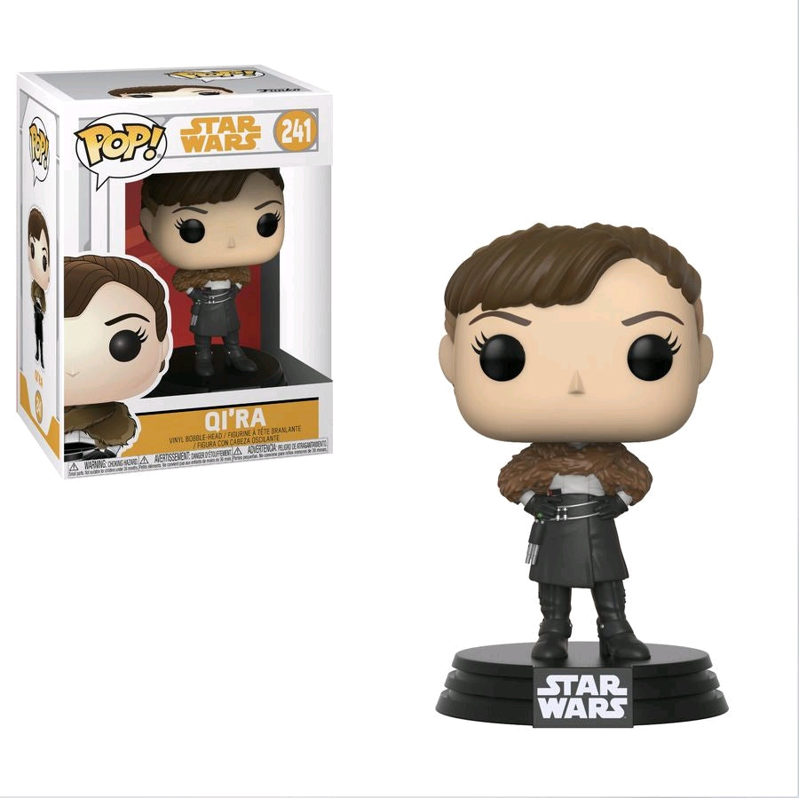 POP VINYL STAR WARS SOLO QI-RA #241