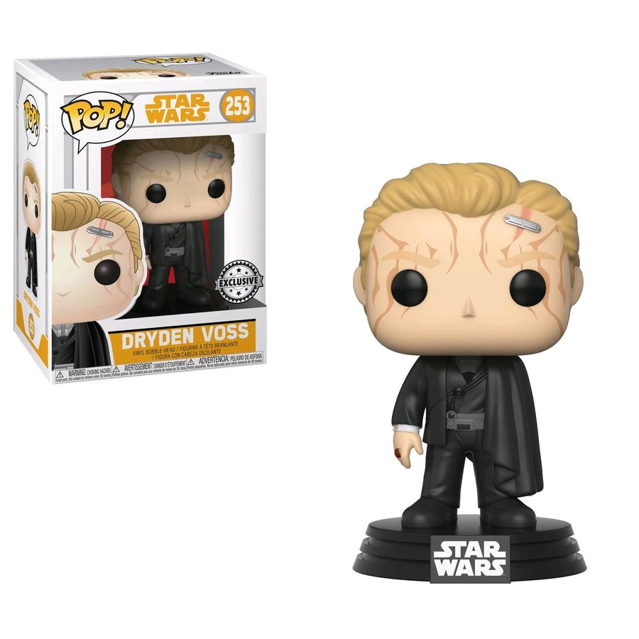 POP VINYL STAR WARS SOLO DRYDEN VOSS #253