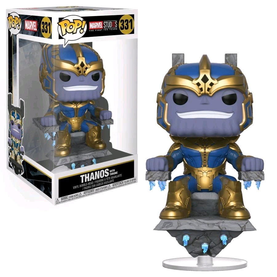 POP VINYL MARVEL STUDIOS THANOS THRONE #331