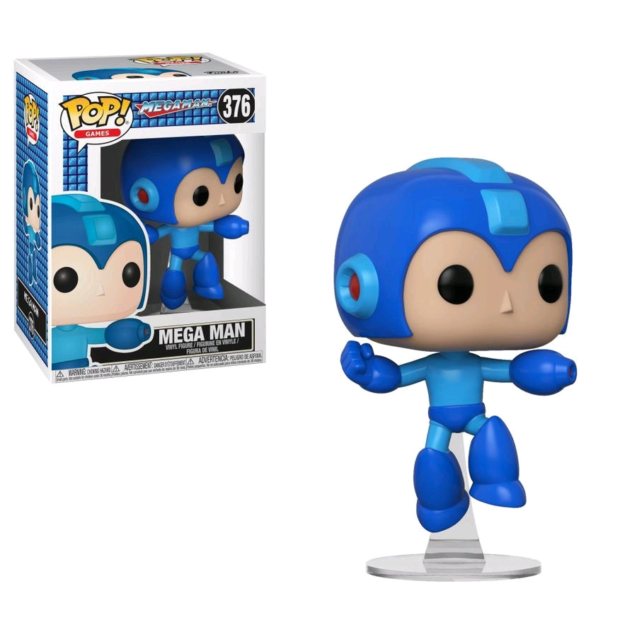 POP VINYL MEGA MAN JUMPING #376