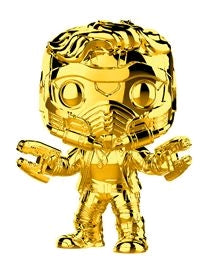 Marvel Studios - Star Lord - #353 - Gold Chrome - Pop! Vinyl