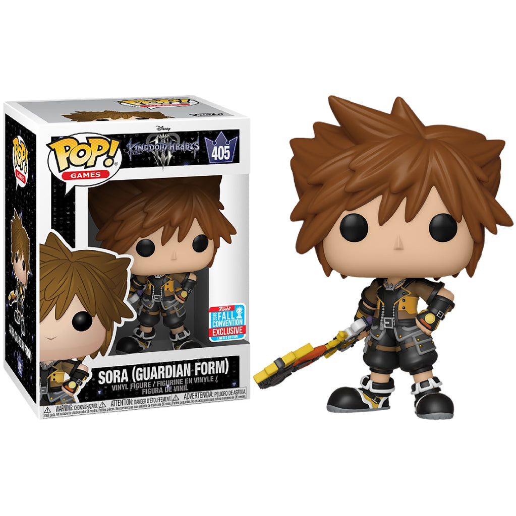 POP VINYL NYCC18 KINGDOM HEARTS 3 SORA AS GUARDIAN