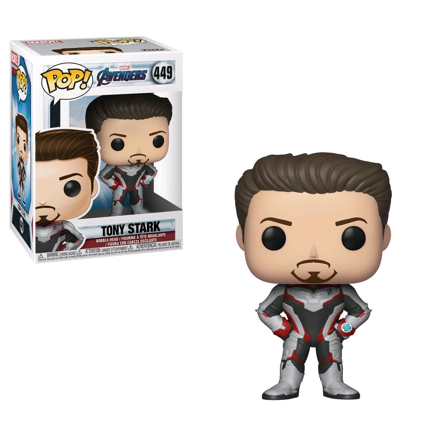 Marvel Avengers 4 Endgame - Tony Stark Team Suit - #449 - Pop! Vinyl