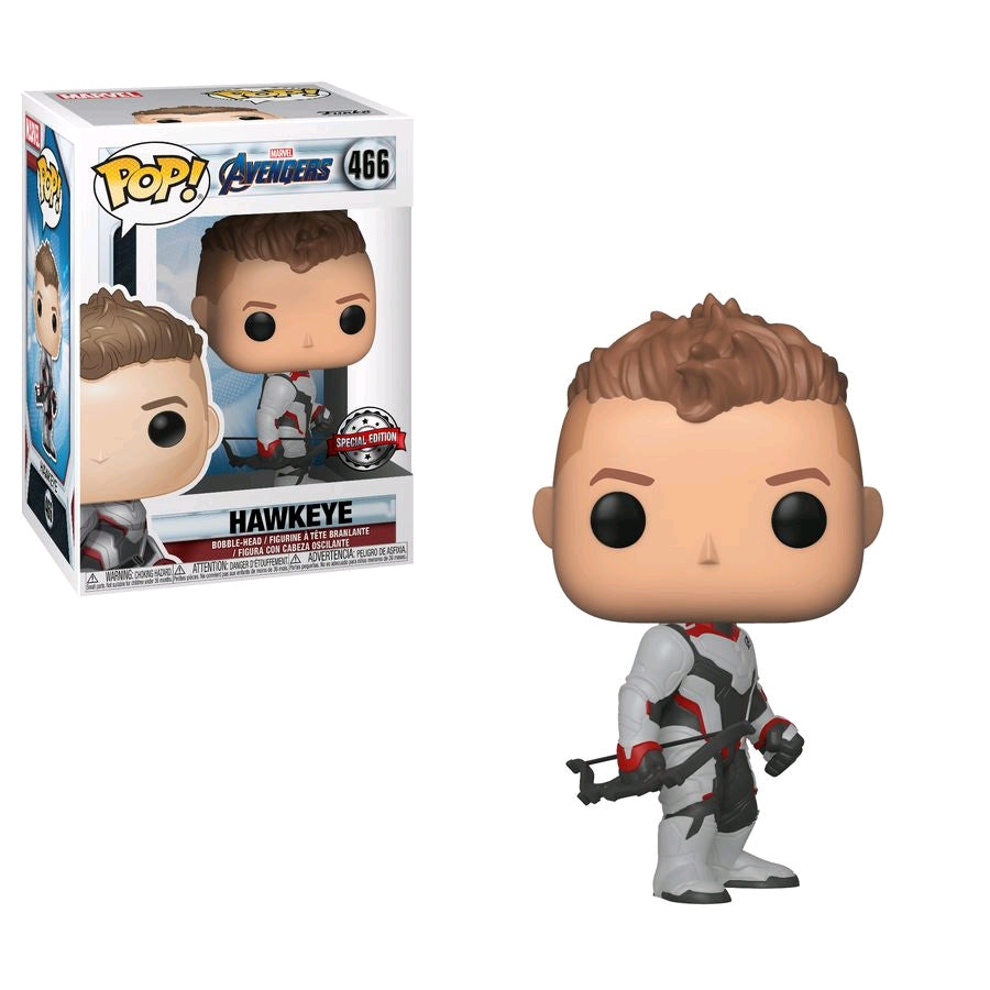 Marvel Avengers 4 Endgame - Hawkeye Team Suit - #466 - Pop! Vinyl
