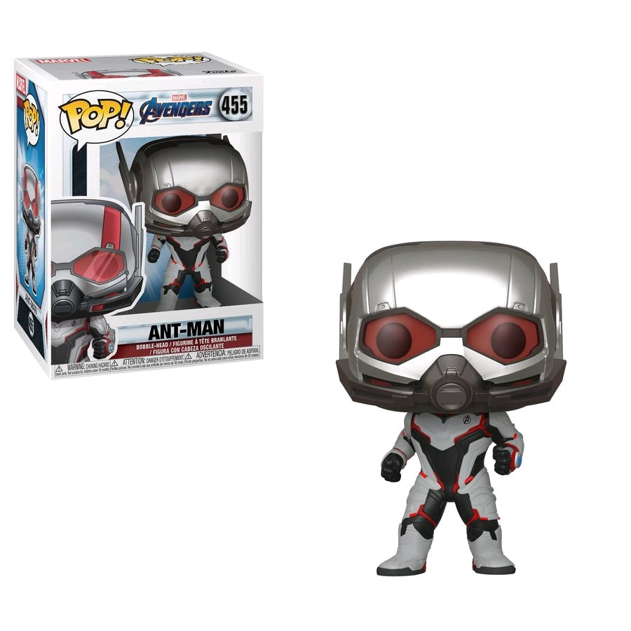Marvel Avengers 4 Endgame - Antman Team Suit - #455 - Pop! Vinyl
