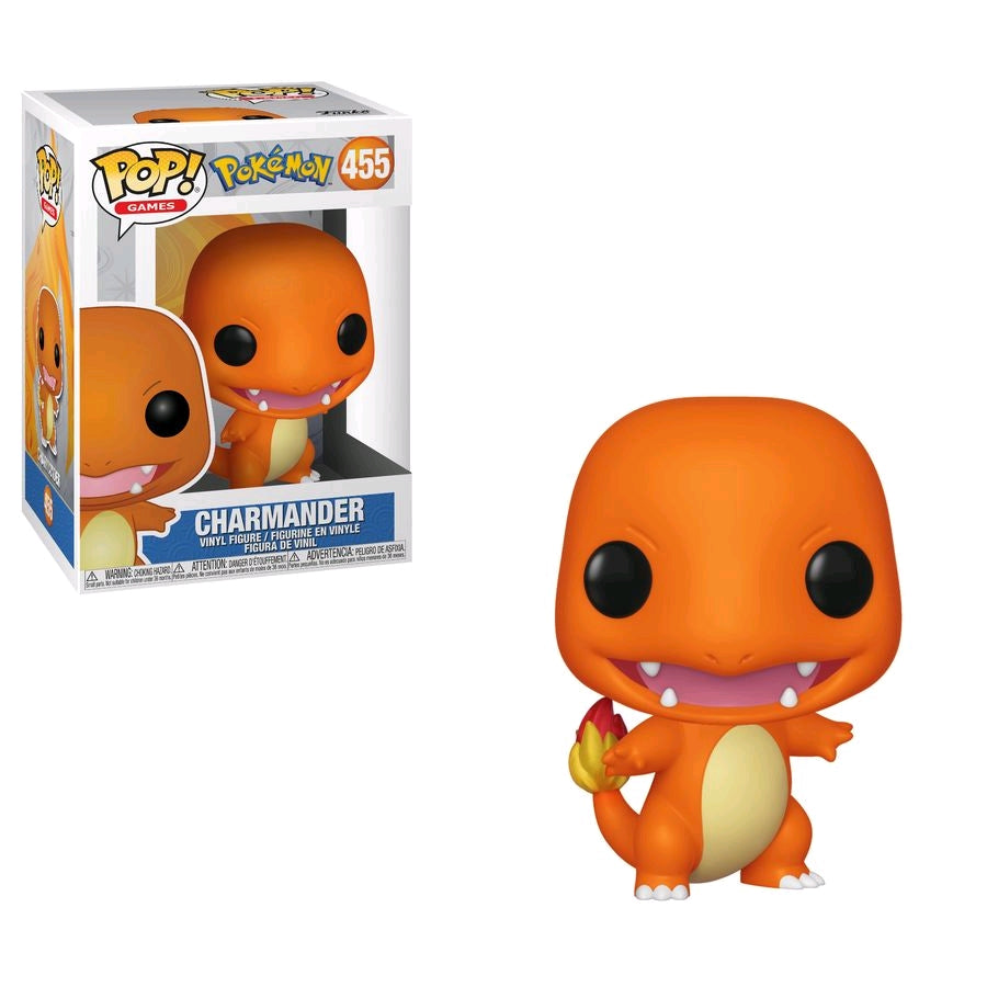 POP VINYL POKEMON CHARMANDER #455