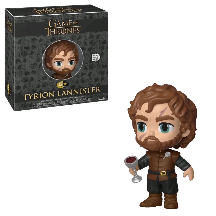 GAME OF THRONES TYRION LANNISTER 5 STAR VINYL