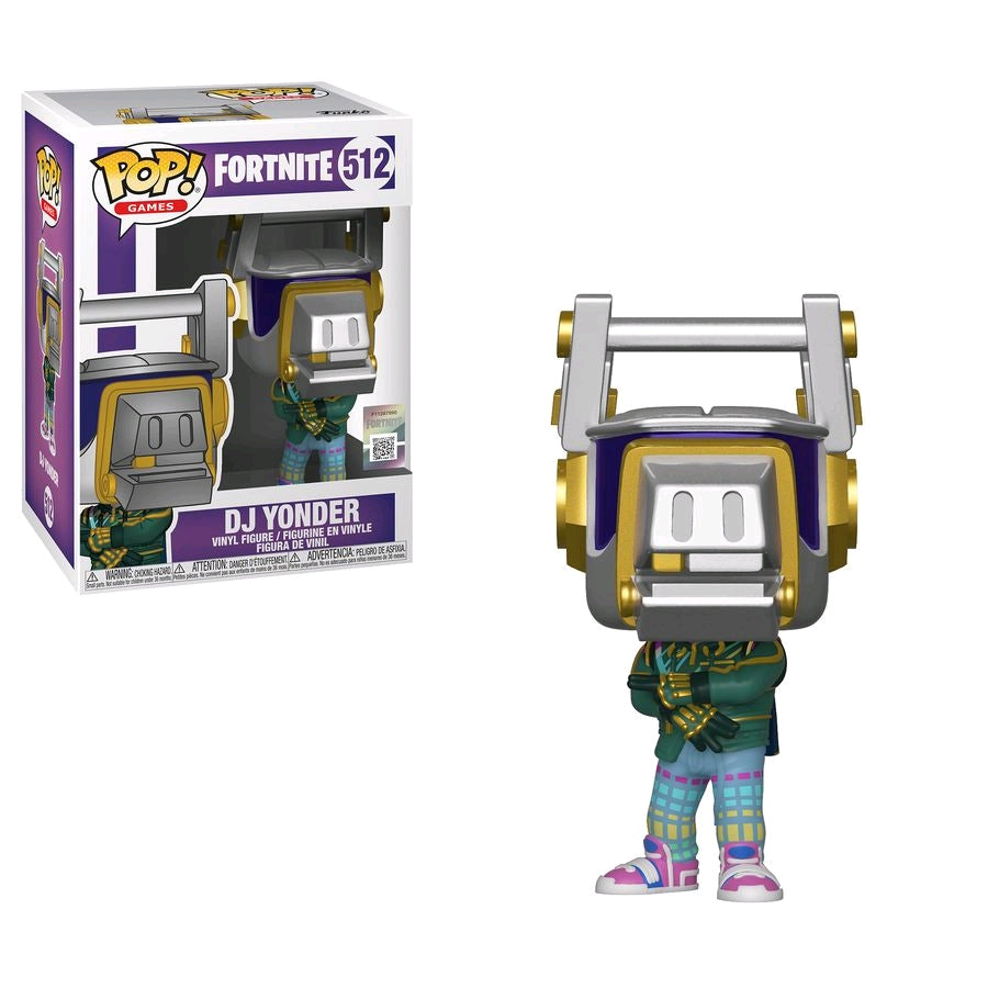 POP VINYL FORTNITE DJ YONDER #512