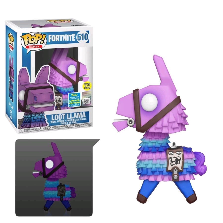 POP VINYL SDCC19 FORTNITE LOOT LLAMA