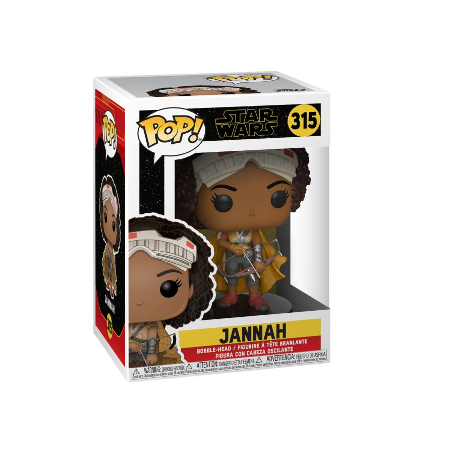 POP VINYL STAR WARS JANNAH #315
