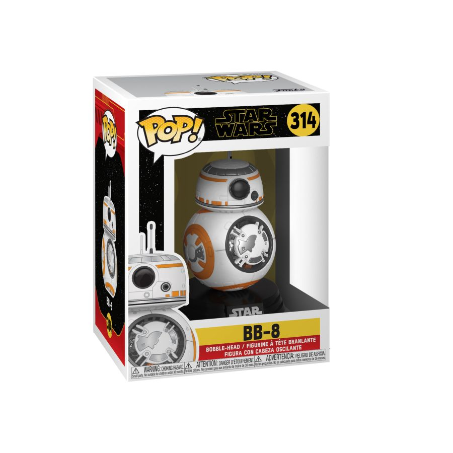 POP VINYL STAR WARS BB8 #314