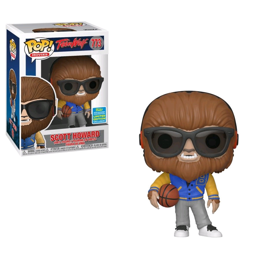 POP VINYL SDCC19 TEEN WOLF SCOTT HOWARD