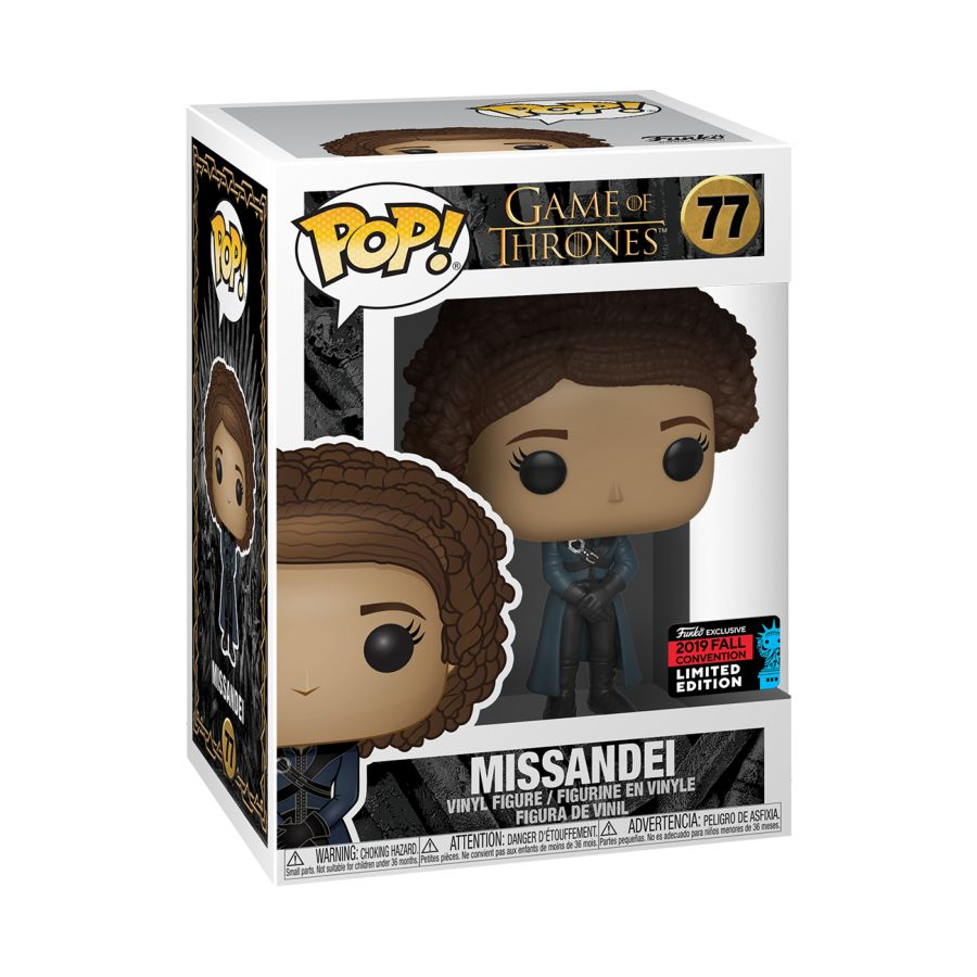Game of Thrones - Missandei - #77 - NYCC19 - Pop! Vinyl