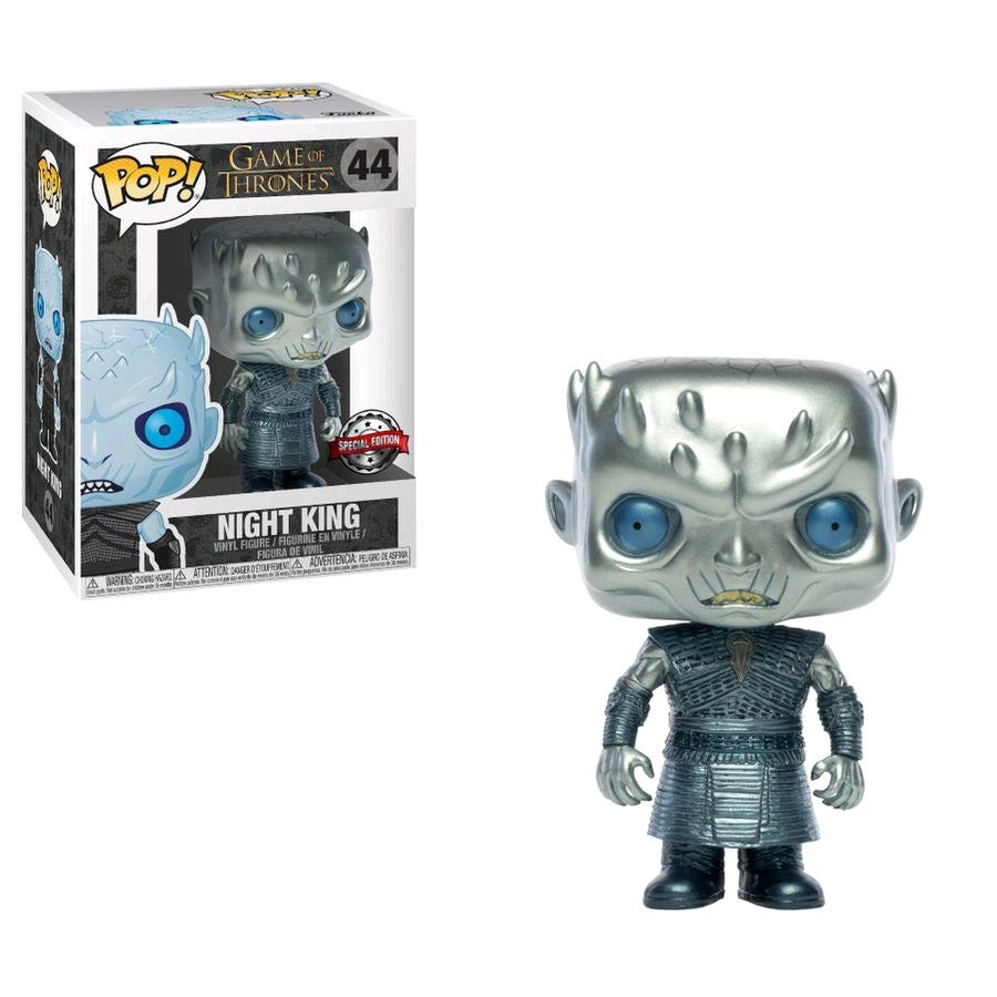 POP VINYL GAME OF THRONES NIGHT KING METALLIC #44