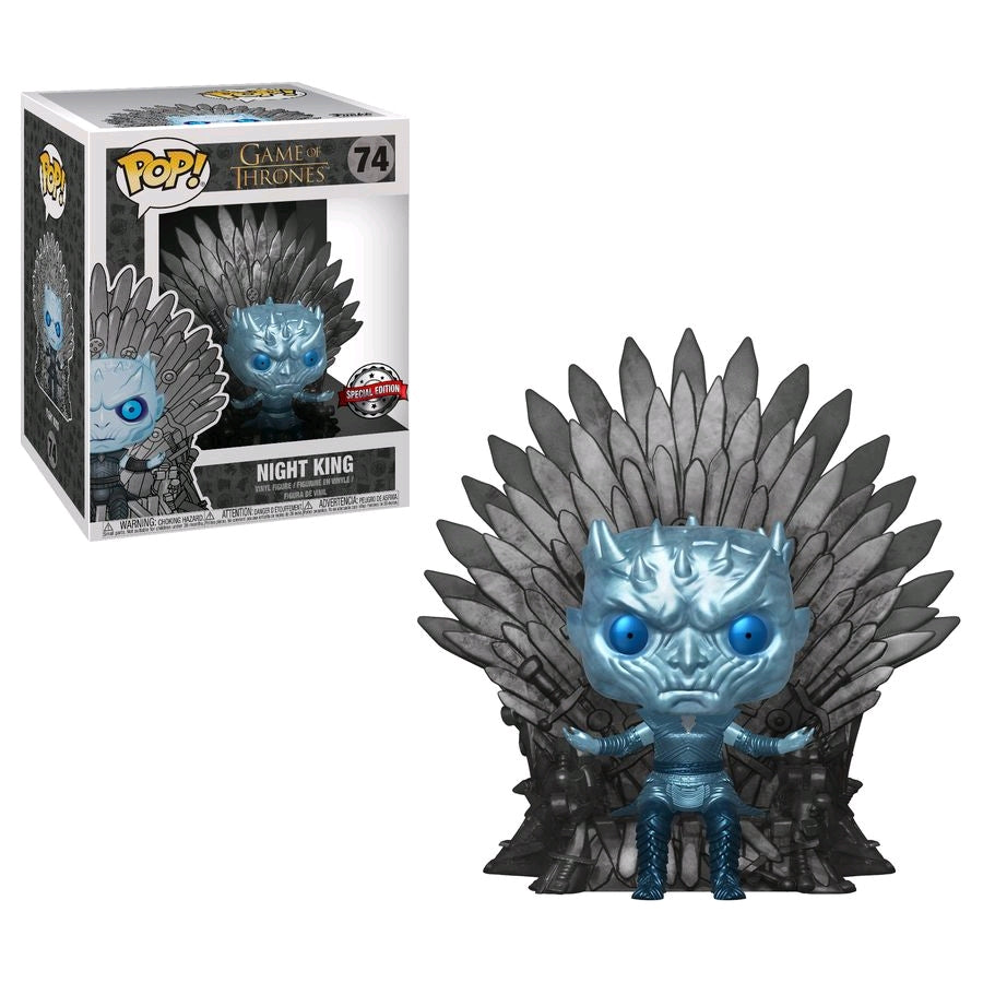 POP VINYL GAME OF THRONES NIGHT KING ON THRONE #74