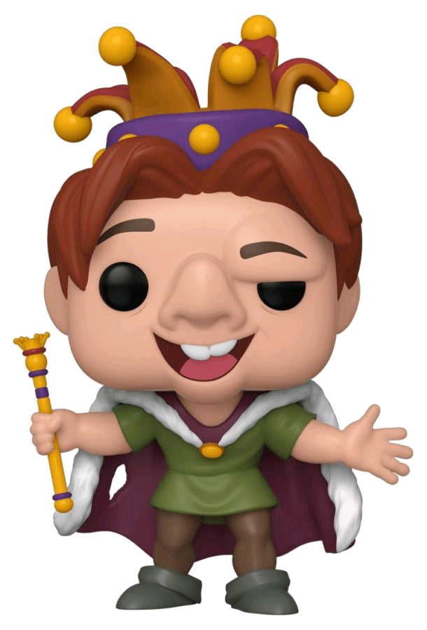 POP VINYL THE HUNCHBACK OF NOTRE DAME QUASIMODO FOOL #634