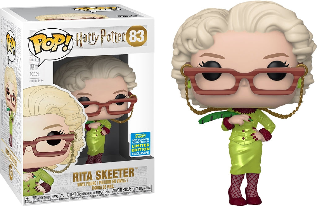 POP VINYL SDCC19 HARRY POTTER RITA SKEETER