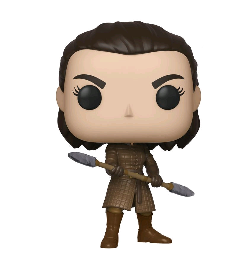 POP VINYL GAME OF THRONES ARYA TWO HEADED SPEAR #79