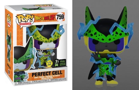 Dragon Ball Z - Perfect Cell - #759 - Glow in the Dark - ECCC20 - Pop! Vinyl