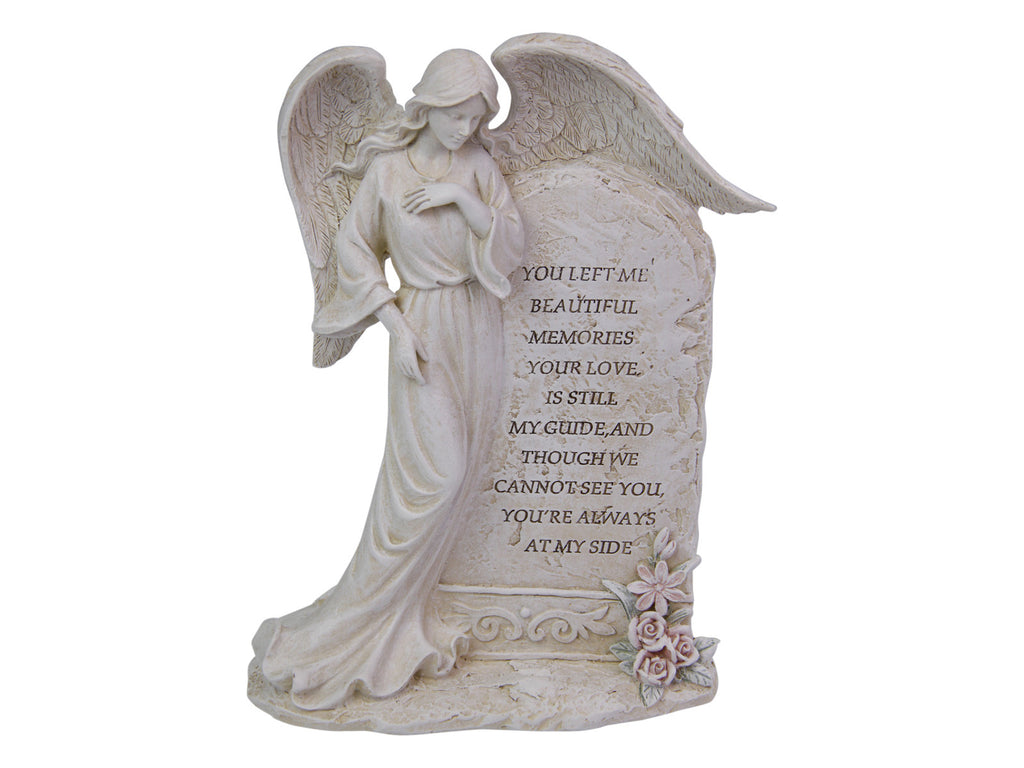 22cm Standing Inspirational Angel Plaque