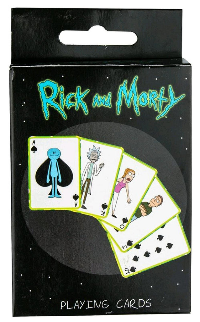 Rick & Morty - Playing Cards