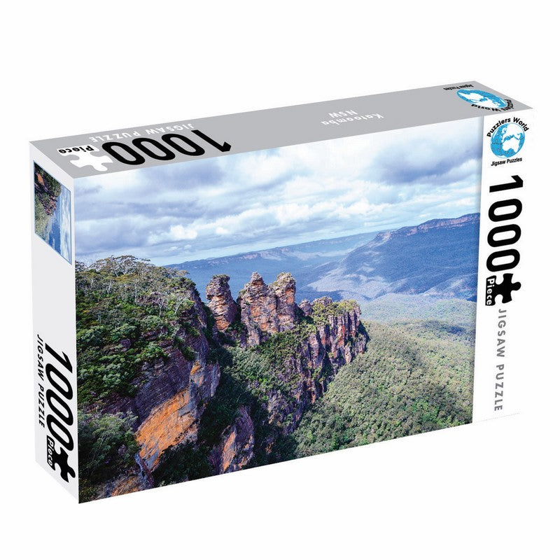 1000 Piece - 3 Sisters Blue Mountains - Puzzle Master
