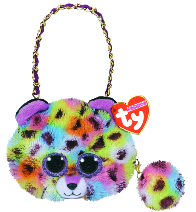 Ty Fashion Mini Purse Giselle - Mulicoloured Leopard