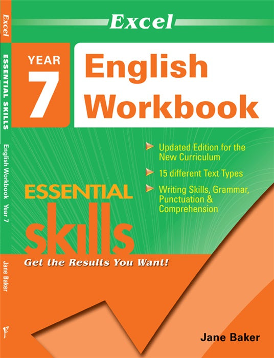 EXCEL ESSENTIAL SKILLS ENGLISH WORKBOOK YEAR 7